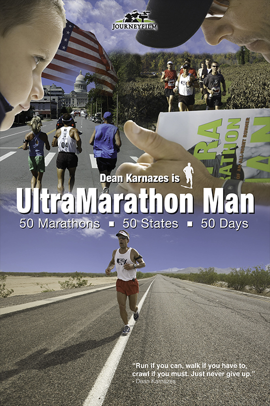 Ultramarathon News Podcasts: UltraMarathon Man: 50•50•50